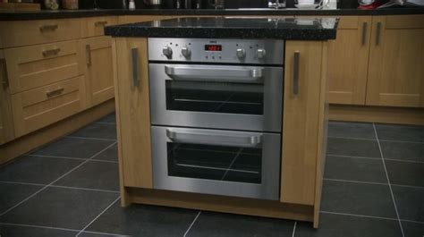 undercounter gas oven built in counter oven home