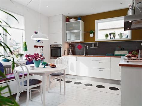 nordic kitchens nordic kitchen design with white dining table