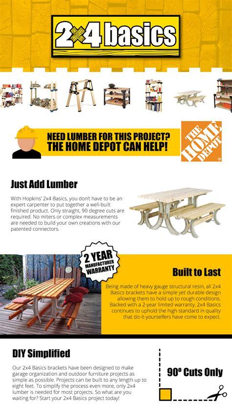 home depot picnic table kit 2 x 4 basics picnic table kit in sand 90182 the home depot