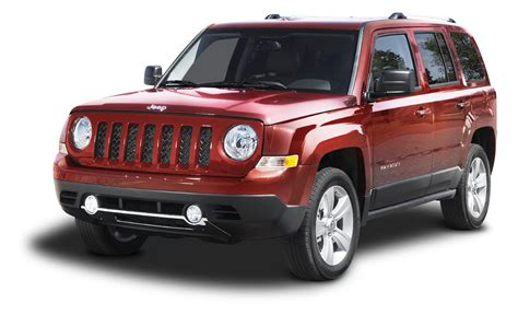 jeep cars red red jeep patriot suv car png image purepng free