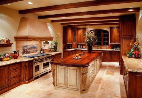 Kitchen Cabinet Paper Paradise Valley Tuscan Style
