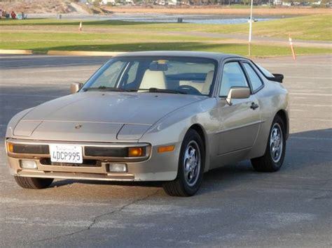 porsche 944 gold 1989 porsche 944 2 7l light gold metallic exterior linen