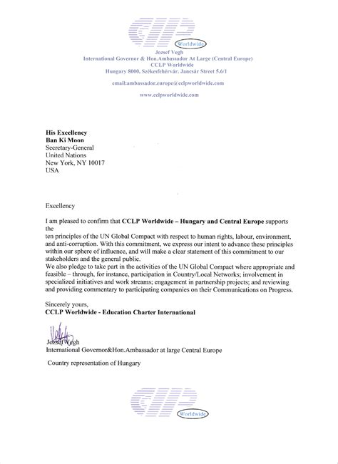 Commitment Letter Of Investment Letter Of Commitment Russianbridesglobal