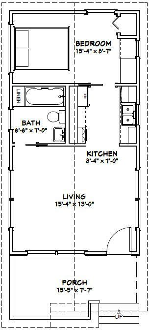 one bedroom cabin plans 16x30 1 bedroom house 16x30h1 480 sq ft excellent floor plans when i build the