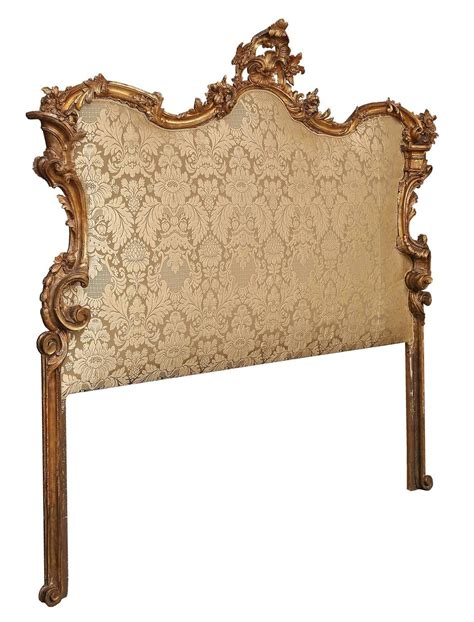 baroque headboard italian 18th century baroque upholstered mecca headboard