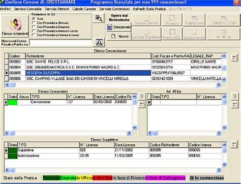 ufficio demanio marittimo software gestione demanio marittimo udm