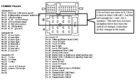 2000 mercedes ml320 system wiring diagrams radio mercedes car radio stereo audio wiring diagram autoradio