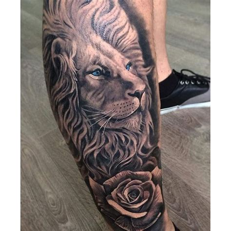 lion and rose tattoo image result for tattoos