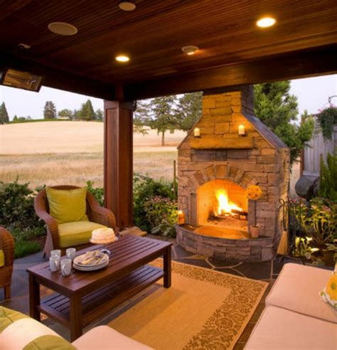 backyard gazebo with fireplace pits fireplaces and