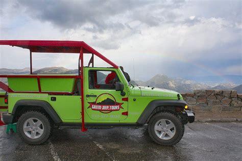 Jeep Tours Estes Park Green Jeep Tours In Estes Park Colorado Green Jeep Tour