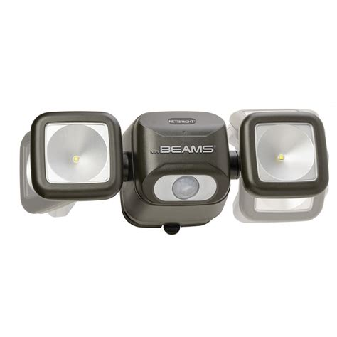 motion detector lights home depot xepa 600 lumen 160 degree outdoor motion activated solar