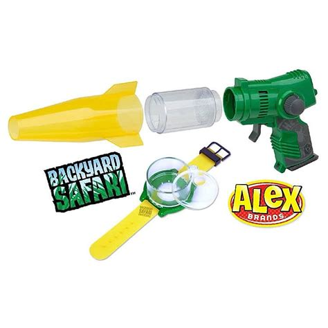 backyard safari lazer light bug vac bug watch kit