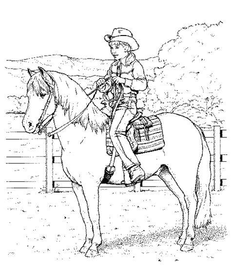 pony ride coloring pages kleurplaat kleurplaat paard 4 10070 kleurplaten
