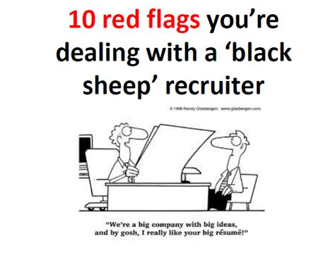 10 signals you are dealing with a bad recruiter