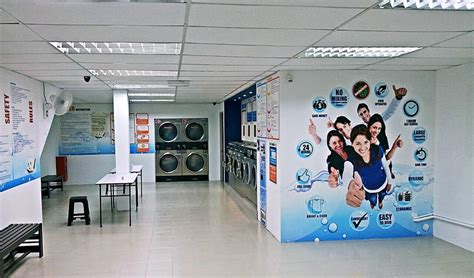 layout of a laundry business creating a professional image for your coin laundry shop