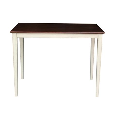 Unfinished Bar Table International Concepts Unfinished Pub Bar Table K 3042 36s The Home Depot