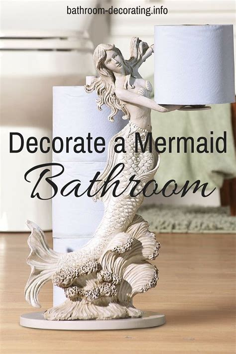 17 best ideas about mermaid bathroom decor on