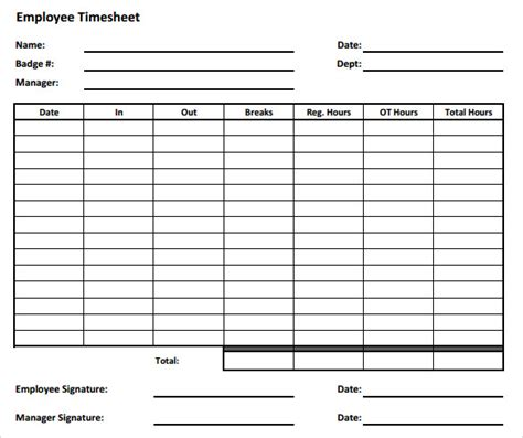 employee timesheet template employee time sheet pictures to pin on pinsdaddy