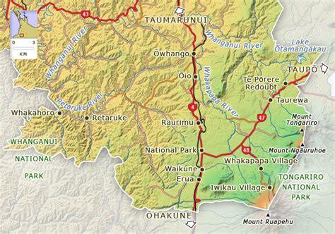 national park king country places te ara encyclopedia