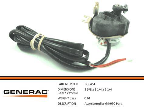 generac stepper motor generac guardian 0g6454 stepper motor assembly gth990 port