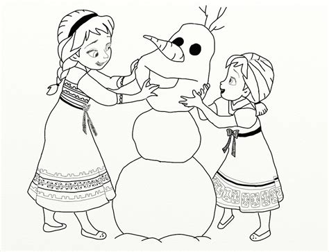 elsa and anna and olaf coloring pages frozen elsa anna olaf by foxbondpl on deviantart