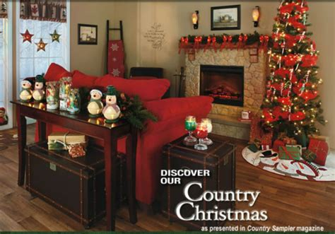Home Decor Online Catalogs by Lakeside Country Christmas In Country Sampler Magazine