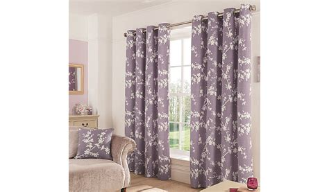 thistle curtains george home thistle eden floral eyelet curtains curtains