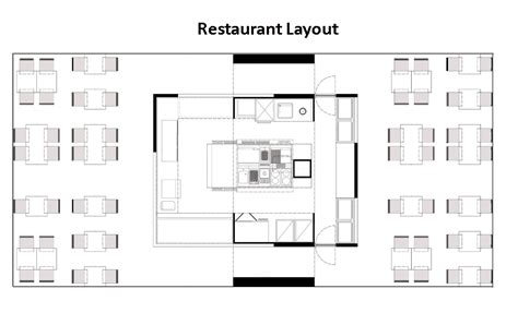 how to design layout of restaurant restaurant layouts restaurant design software