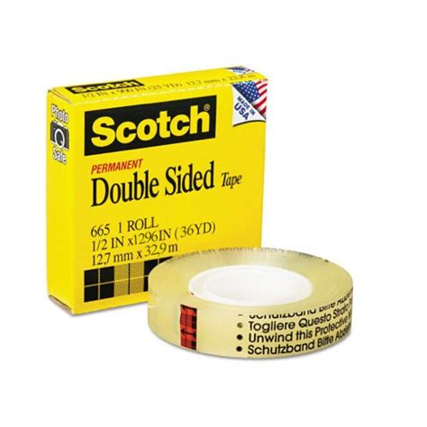 Grosir Dauble Tipe Dauble Tipe 3 M buy 3m 665 coated clear 1 2in x 36yds