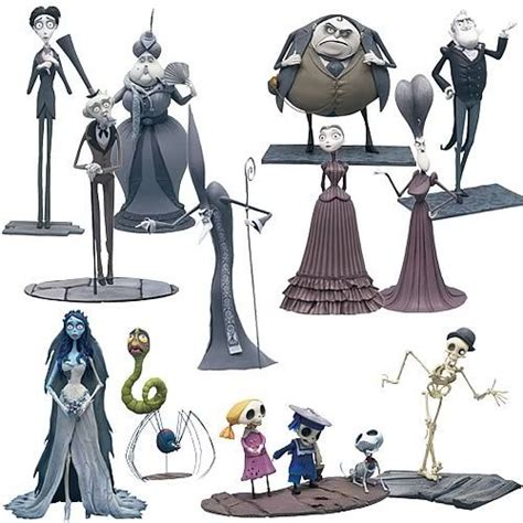 9 figures tim burton 21 best images about new project corpse on