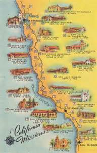 map of missions in california pin california missions maps on