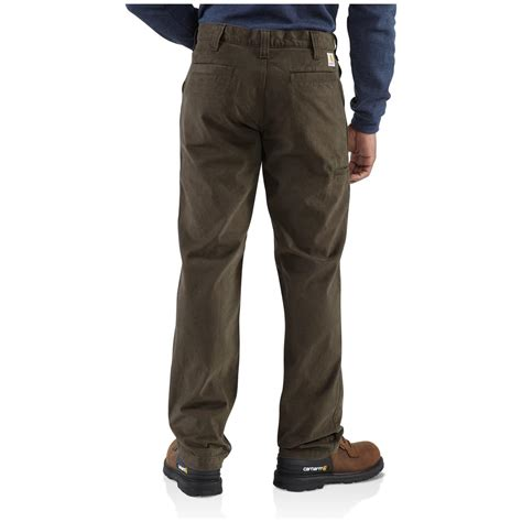 carhartt rugged work khaki pant carhartt 174 rugged khaki work 427597 at sportsman s guide