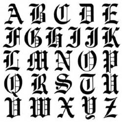 5 best images of printable old english alphabet a z