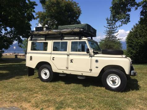 land rover series 3 4 door award winning land rover series iia 109 quot 5