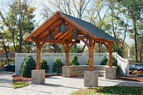 pavillon 6x6 styles timber frame pavilions the barn yard great