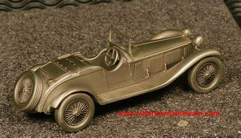 1929 1750 gs zagato pewter 1 43 alfa romeo