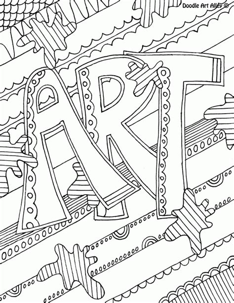 doodle alley quotes doodle alley all quotes coloring pages coloring home