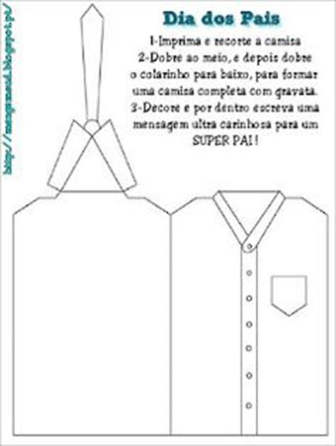 day shirt and tie card template fathers day on