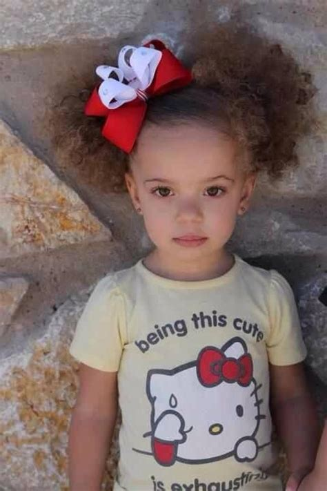 eek so adorable i want a little mixed girl being that cute is exhausting mixed babies cutie