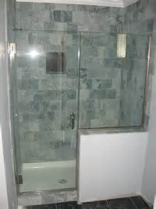 Shower Enclosures With Half Wall