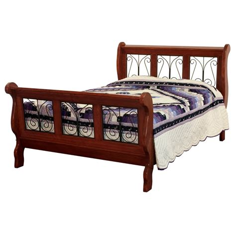 wrought iron sleigh bed amish beds amish bunk beds are constructed of solid wood