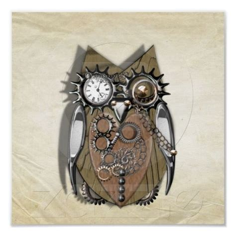 mechanical owl tattoo 86 best images about owls on owl bird steam