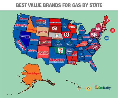 cheapest state gasbuddy reveals the cheapest places to fill up in 2015