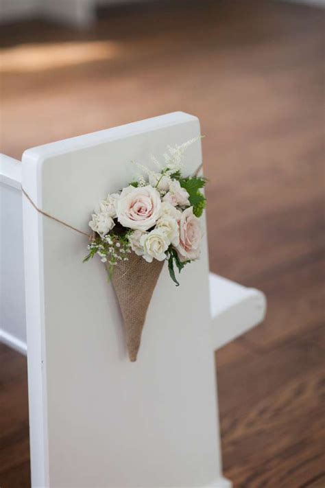 Aisle Style   30 Incredibly Pretty Pew Ends   weddingsonline