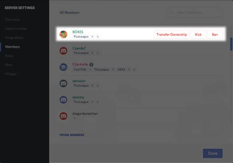 discord transfer ownership overview for trev l