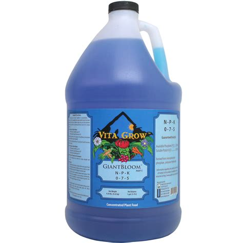 Liquid K Pop Nic 0 Clone vita grow giantbloom 0 7 5 liquid fertilizer