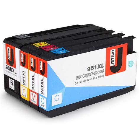 Hp Tinta Printer 951xl Cyan jetsir 1 hp 950xl 951xl cartuchos de tinta de alto