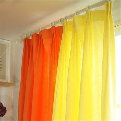 orange linen curtains popular orange curtains living room buy cheap orange