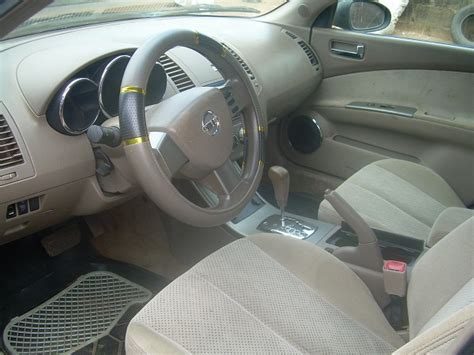SOLD!!! Nissan Altima 2003 Model (neat Fabric Interior ... Nissan Altima 2003 Interior