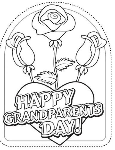 grandparents day coloring pages preschool 9 best grandparents day images on pinterest acrostic